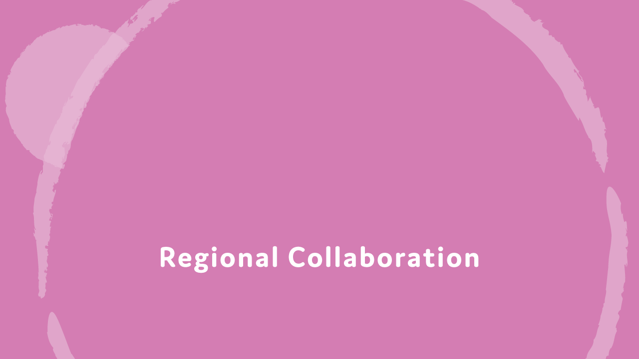 Regional Collaboration.