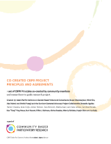 Download Co-created CBPR Project Principles and Agreements